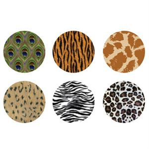 Picture of Animal Print Large Locket Backdrops